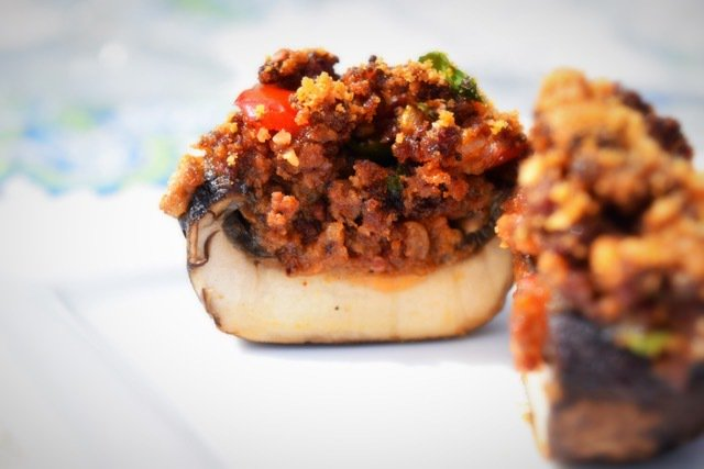 Chorizo Stuffed Mushrooms - blogs de cooking and recipes blogs https://t.co/CAvRSoCKzs https://t.co/iOWPvxcm6Q