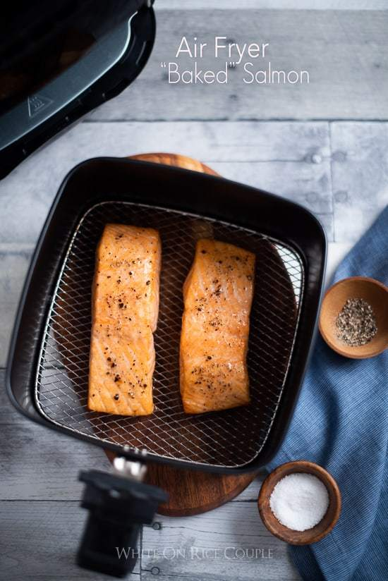 "Healthy Air Fryer ""Baked"" Salmon and New Site! https://t.co/ZTEVMvHSjb https://t.co/60ux4oBTi7"