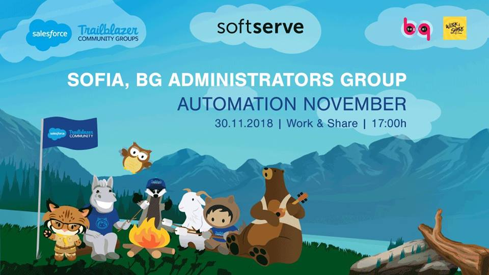 We are meeting on 30th November to talk #Salesforce Automation. Join us in Work & Share Coworking Space at 5 PM! 🤩https://t.co/GhpXMRtn8v https://t.co/W4kherEzmU