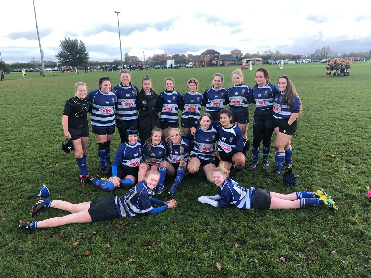 @MRUFCGirls #mrufcunder15s enjoying their day away @selby_rufc playing the home team and @wplgirls - what a great way to spend a #sundayafternoon #rugbysunday #mansfieldgirlsrugby #rugbysisters #rugbyfriends
