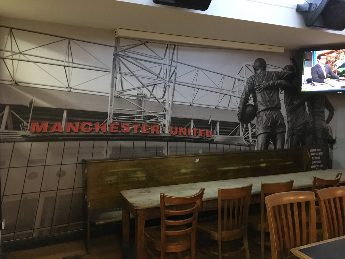 We've just been informed that our home pub has closed. We had no idea this was happening but we have a committee meeting tonight to organise #MUFCinPerth & it will be discussed & hopefully a solution is found before the next decent KO time. Will miss this wall #ManUtdNSW 🇾🇪 https://t.co/ilBOprCZux