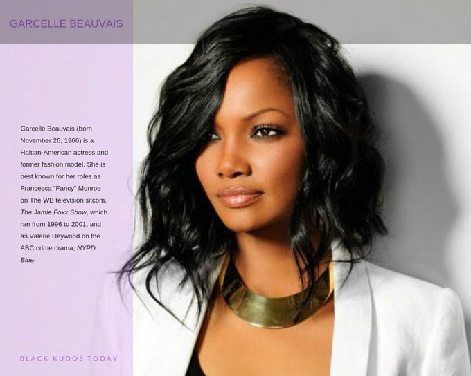 Happy Birthday to Garcelle Beauvais.