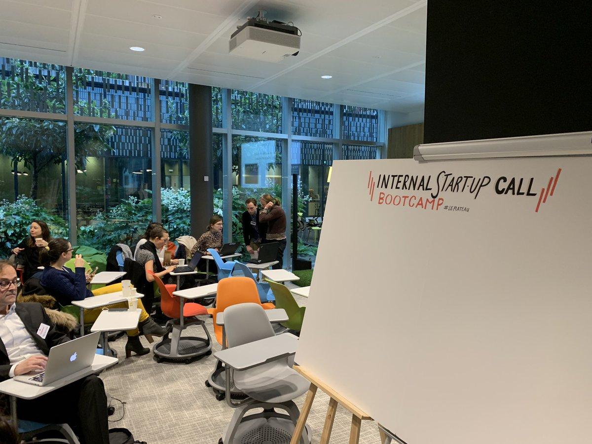 internal startup call société générale
