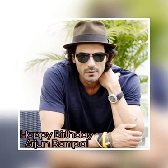 Happy Birthday to the handsome Arjun Rampal!