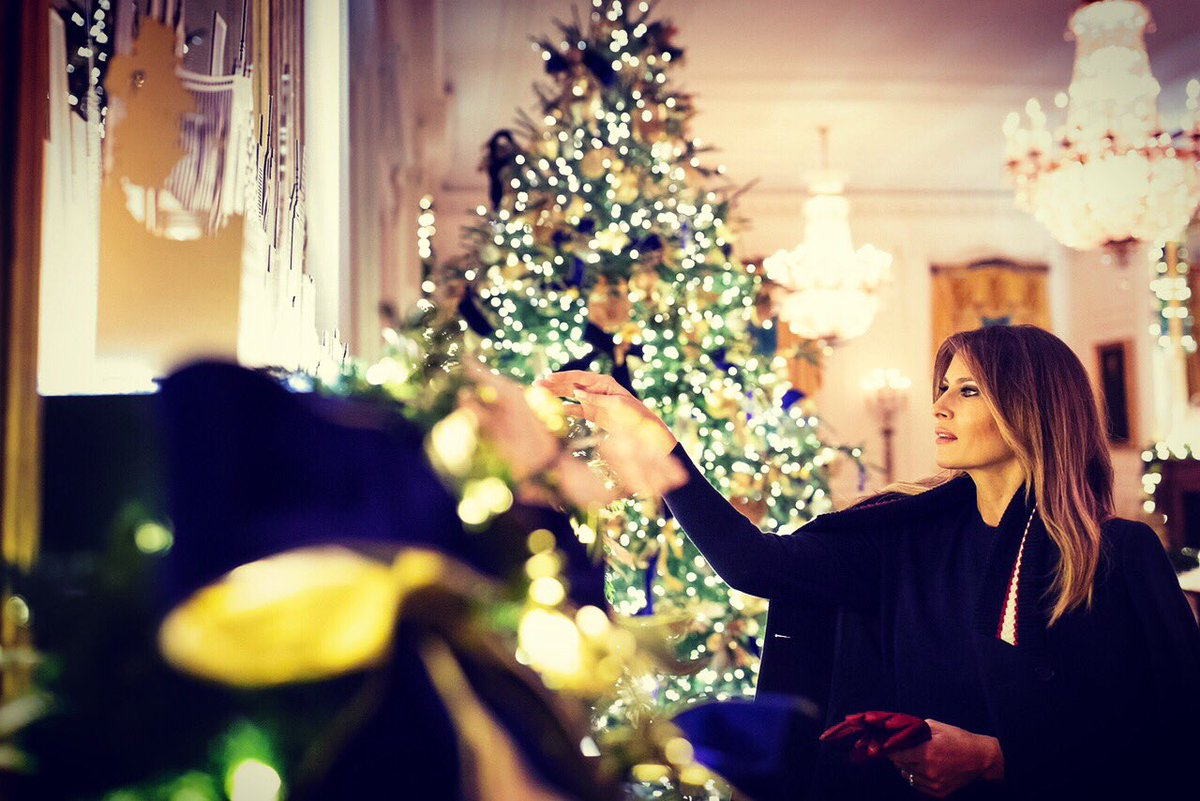 Trump Christmas.Melania Trump On Twitter The Whitehouse Is Sparkling For