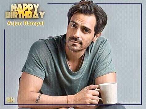 Happy birthday Arjun Rampal...