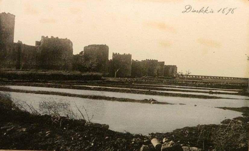 Yıl 1898 Diyarbakır Surları ve Su Kemerleri