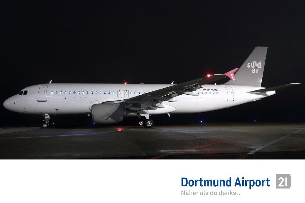 Flughafen Dortmund On Twitter Dtmairportlife Gestern Abend Hat