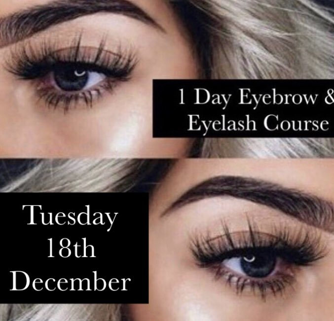 Chill Out Training On Twitter Level 2 Eyebrow Eyelash Course