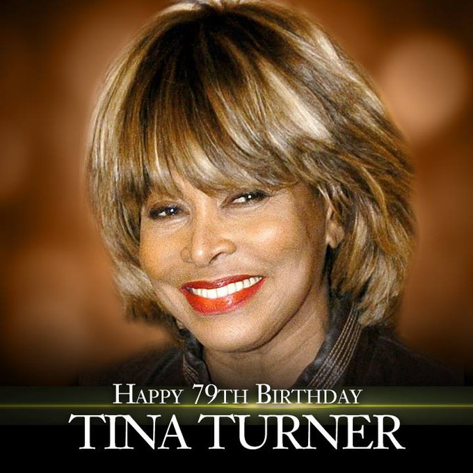Simply the best - Happy Birthday to the legendary Tina Turner!