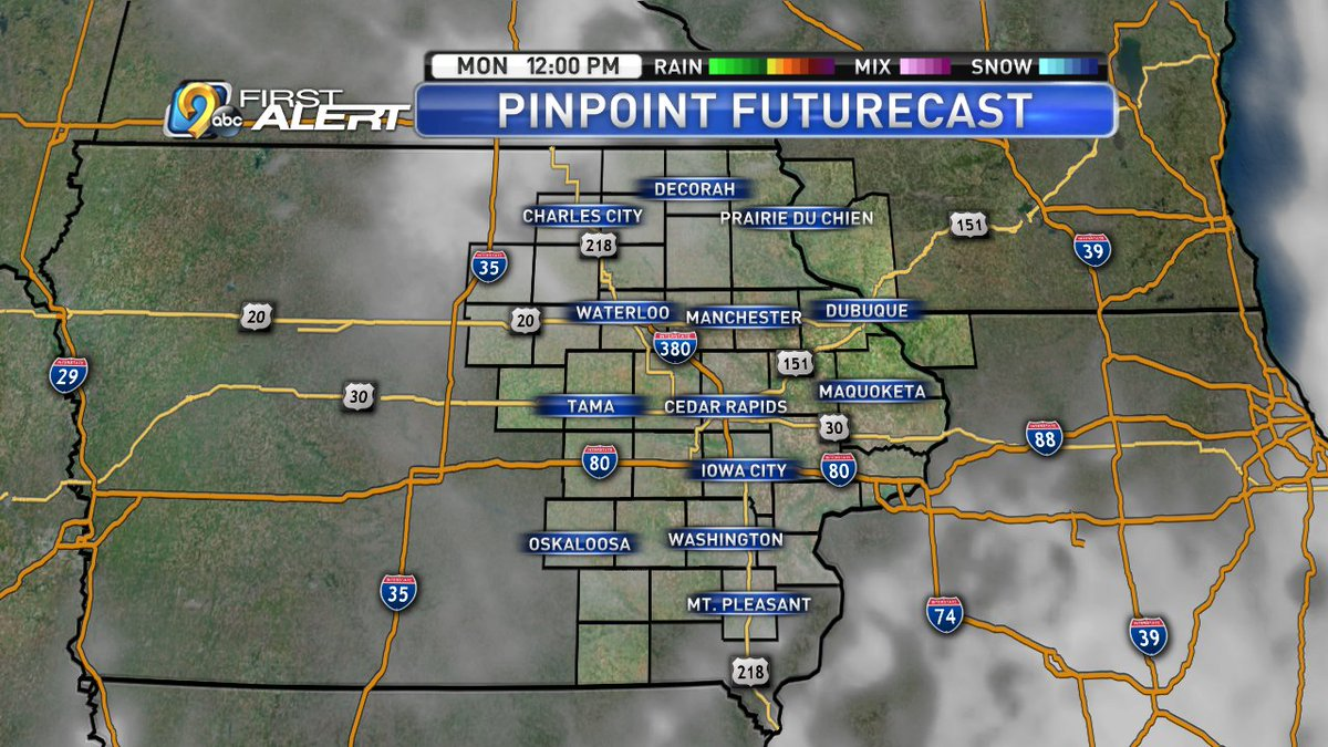 Kcrg Tv9 First Alert Weather On Twitter We Re Back In The Freezer