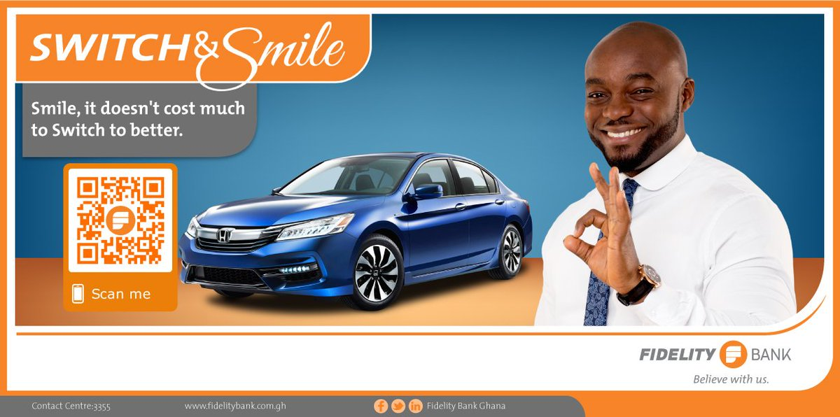 Fidelity Bank Auto Loan >> Switchandsmile Hashtag On Twitter