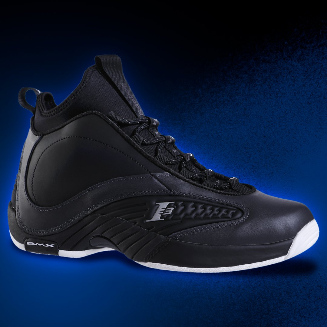 c76bc4e51af9 The Men s  Reebok Answer IV.V  Black Coal White  drops in select stores    online today!  hibbett Shop A.I.