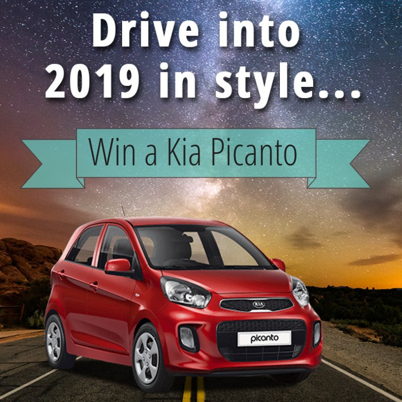 2019 could just be getting a whole lot more exciting for you 🤩 🚘  The Kia Picanto worth R200,000 will be given away this January and it could be yours!  The more you play, the greater your chances are of winning... Play Now: https://t.co/1bbGn1J9HF https://t.co/kJTA44TO8v