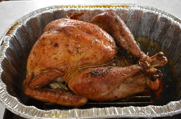 Herb-Glazed Turkey  #recipe #Thanksgiving https://t.co/R2TqOS0XCO