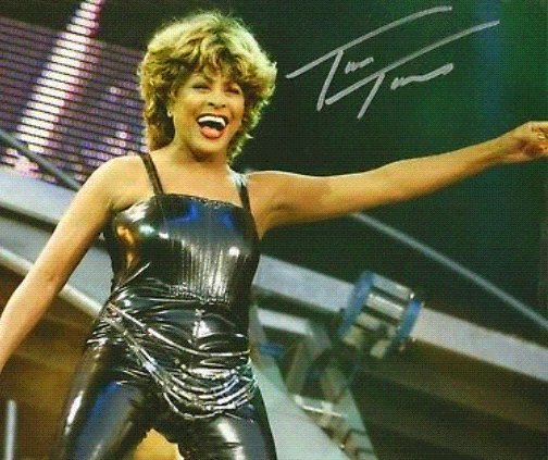 You\re simply the best  Better than all the rest  Better than anyone ...   Happy 79th Birthday, Tina Turner!