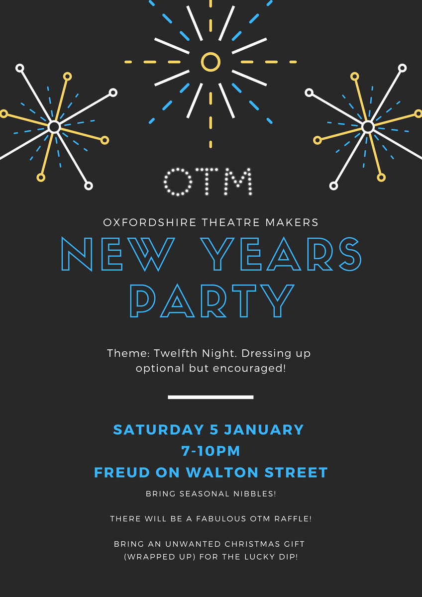 Media Tweets by Oxfordshire Theatre (@OxTheatreMakers) | Twitter