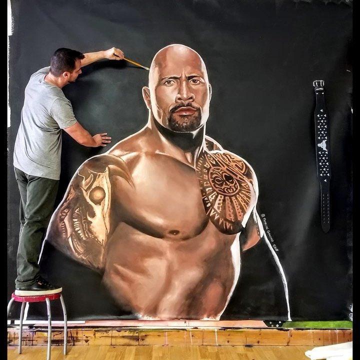 procesos de tintura meticulosos última venta la mejor moda Dwayne Johnson no Twitter: