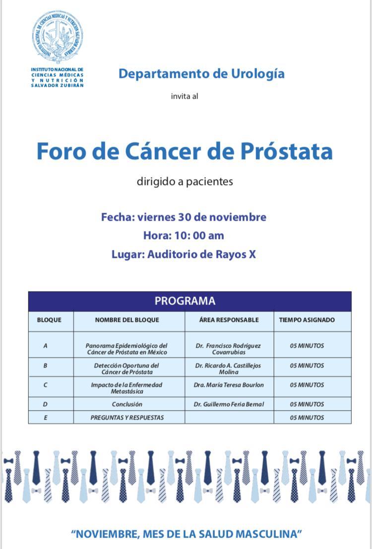 preguntas y respuestas del cancer de prostata