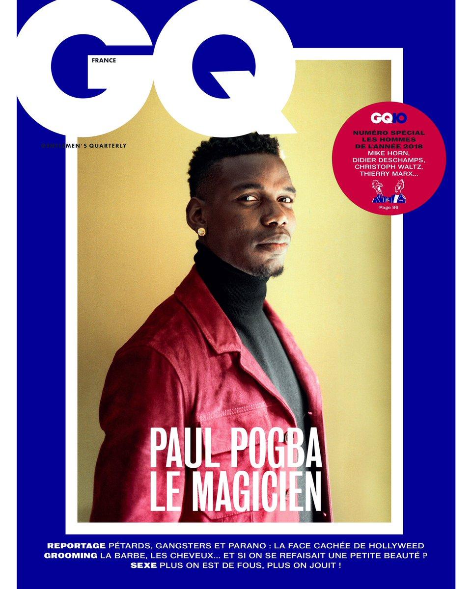 Merci GQ France pour le Champion de l'Année 👊🏾 #HommesGQ2018 @GQ_France @JPatrelle