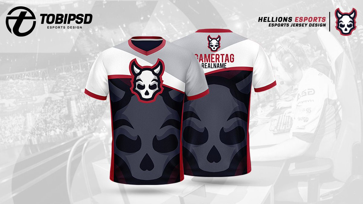 Presenting The Design Of @HellionsEsports By TOBIPSD.🔥🚀 #TOBIPSD🔥