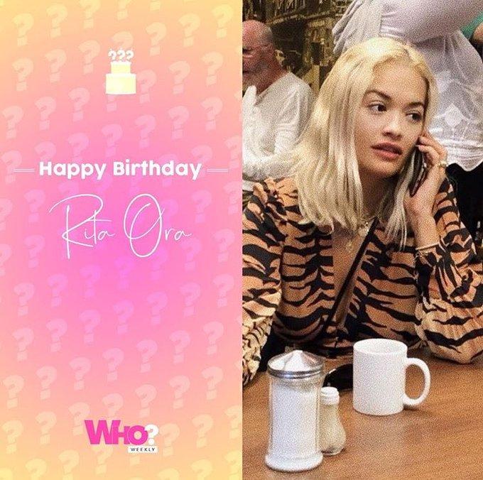 Happy birthday Rita Ora!!
