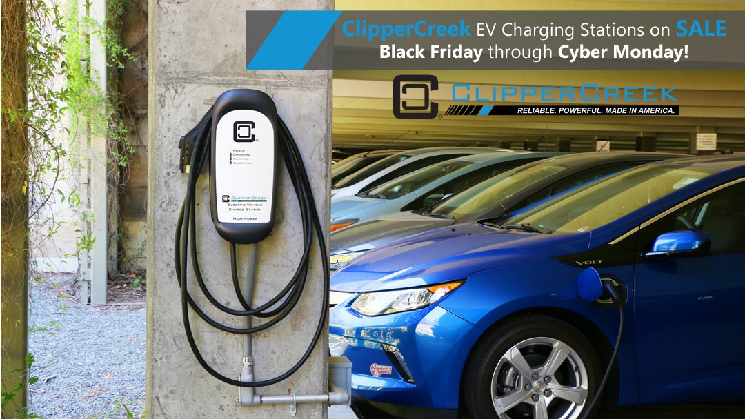 On A Variety Of Electric Vehicle Charging Station Models At Clippercreek Before Midnight Pst Tonight For The Best Prices
