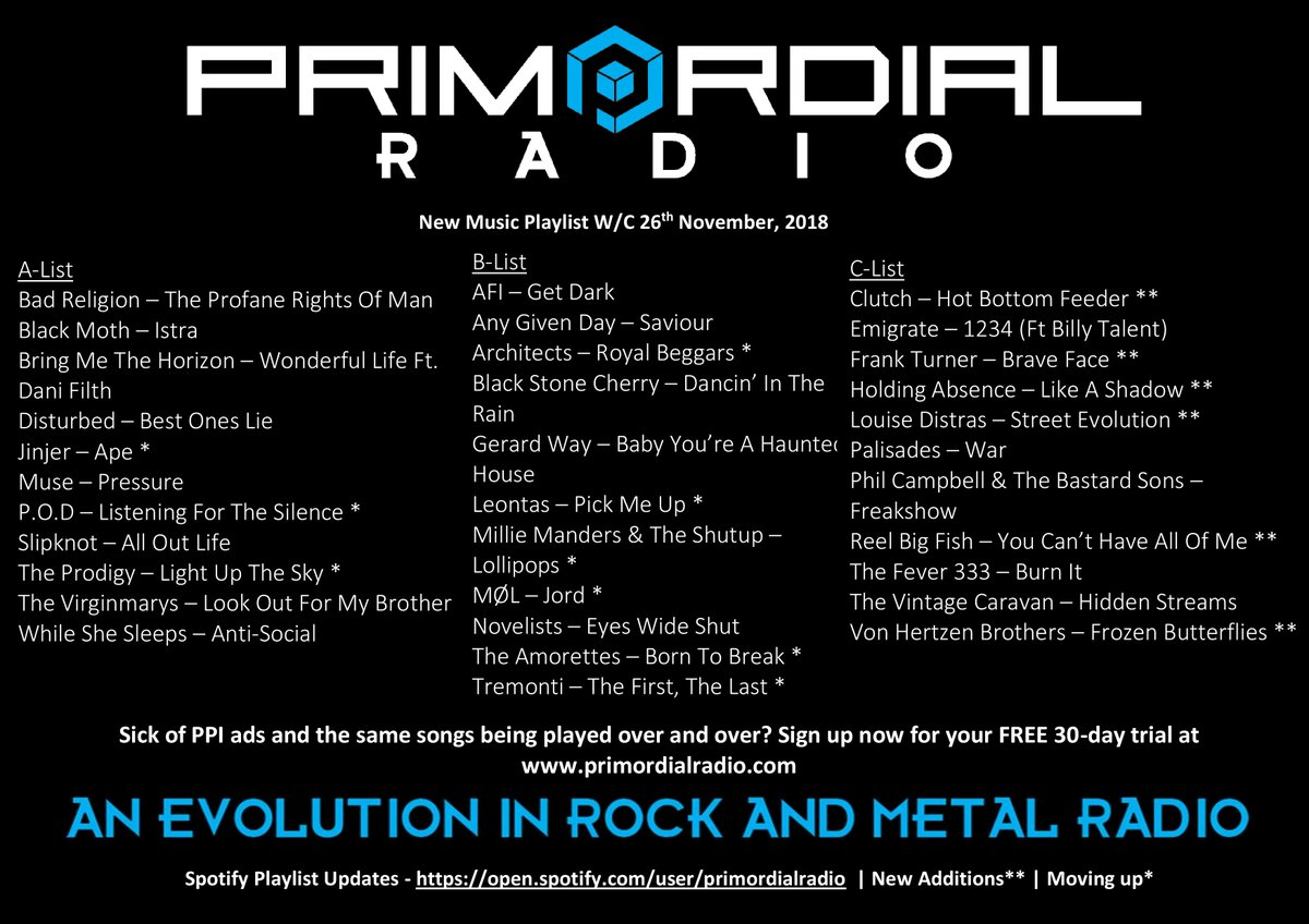 Primordial Radio on Twitter: