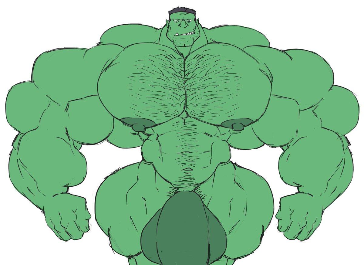 Hulk gay cock