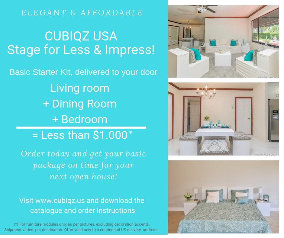 ... Affordable Solution To Any Staging Project! Stage For Less And Impress!  #CUBIQZUSA #cardboard #furniture #staging  #homestagingpic.twitter.com/Mi0K53Iqny