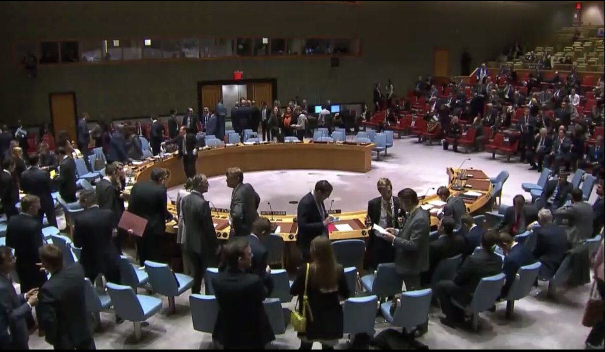#Urgent @UN Security Council emergency meeting Ukraine Russia with @nikkihaley @USUN @CBSNews