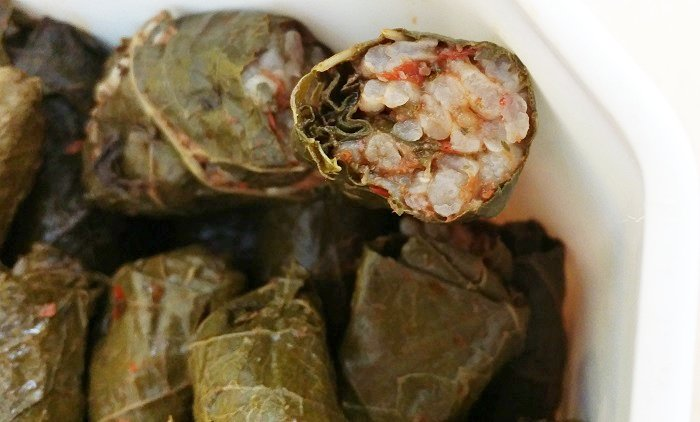 Stuffed vine leaves with minced meat  #recipes #cooking #homemade  https://t.co/0ZHgpM8GFu https://t.co/AfhMYY8eWA
