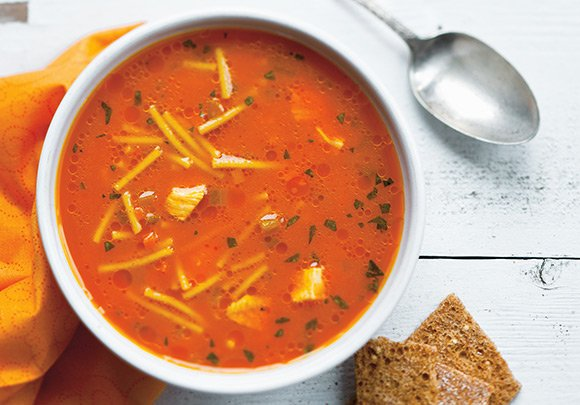 You'll never guess the star ingredient of this chicken soup! https://t.co/njbz59LK3d https://t.co/LlHiPe9yIG