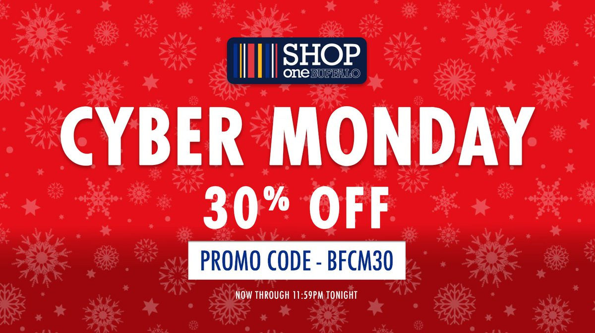 Buffalo Bills on Twitter: Cyber Monday deals start RIGHT NOW! Shop  VGj3MnFQ