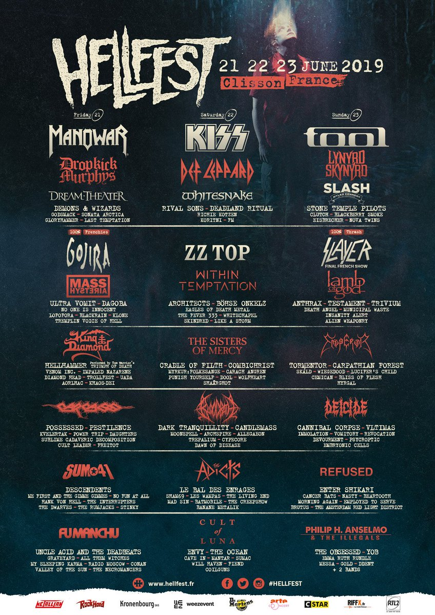 Infos Liensvers Les Groupes Du Hellfest 2019 Page 1