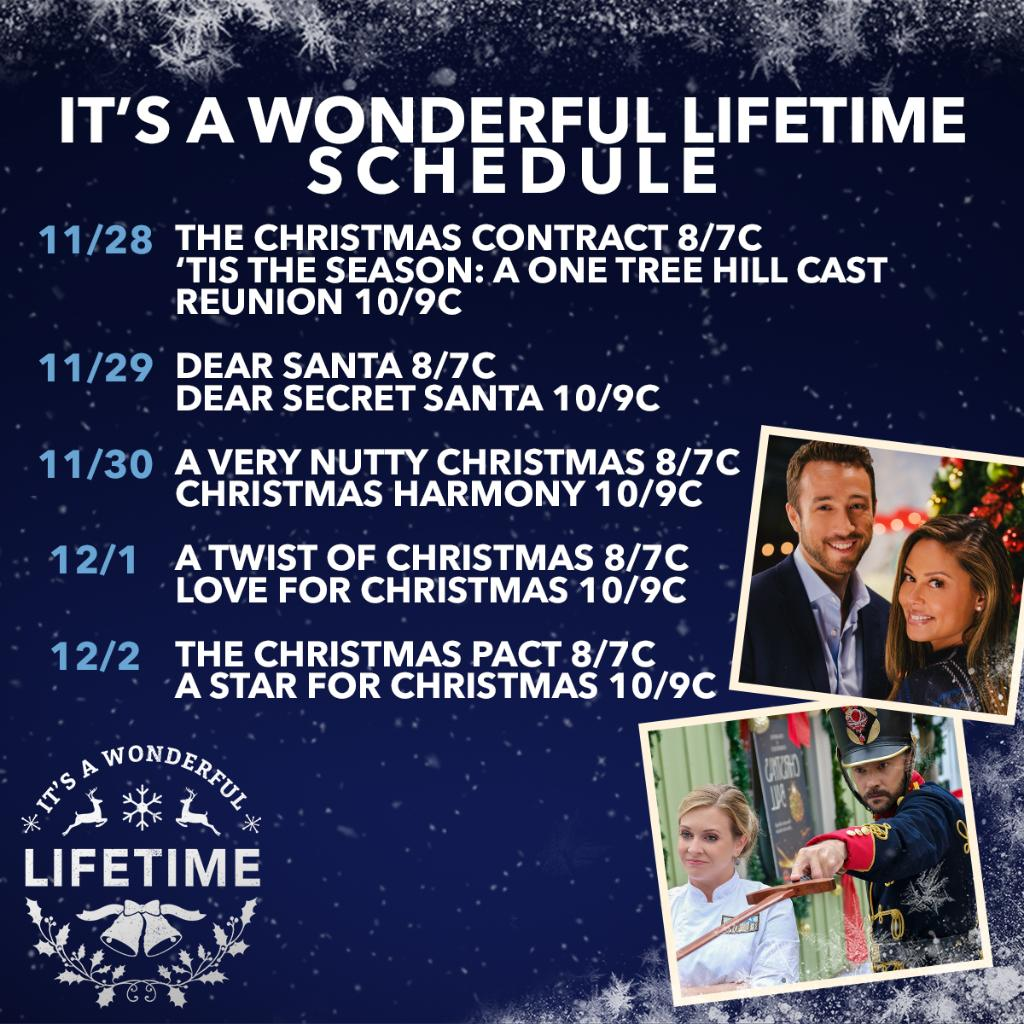 Christmas Harmony Cast.Lifetime On Twitter Tis The Season To Watch Tons Of