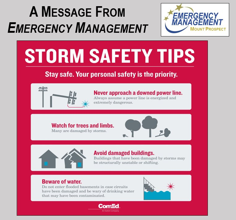 Mount Prospect Fire On Twitter Please Report All Outages And
