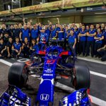 Grazie mille @ToroRosso !! ♥️ I will miss you guys!! It has been such a pleasure working with @ToroRosso & @HondaRacingF1 , amazing team spirit full of passion. Thanks for giving me my first opportunity in @F1, we shared many great moments together that I won't forget!! MERCI!!