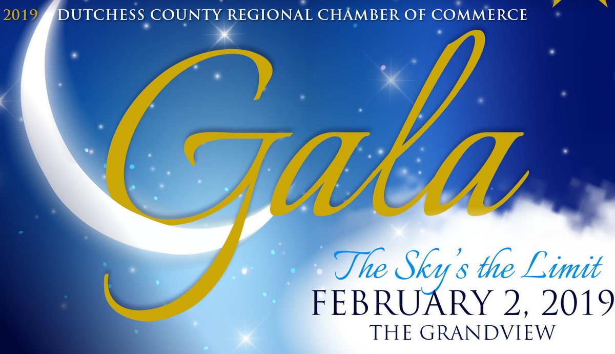 dutchess chamber on twitter the sky s the limit is the 2019 gala