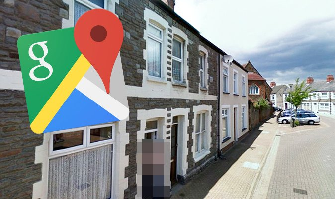 Daily Express On Twitter Google Maps Street View Unfortunate