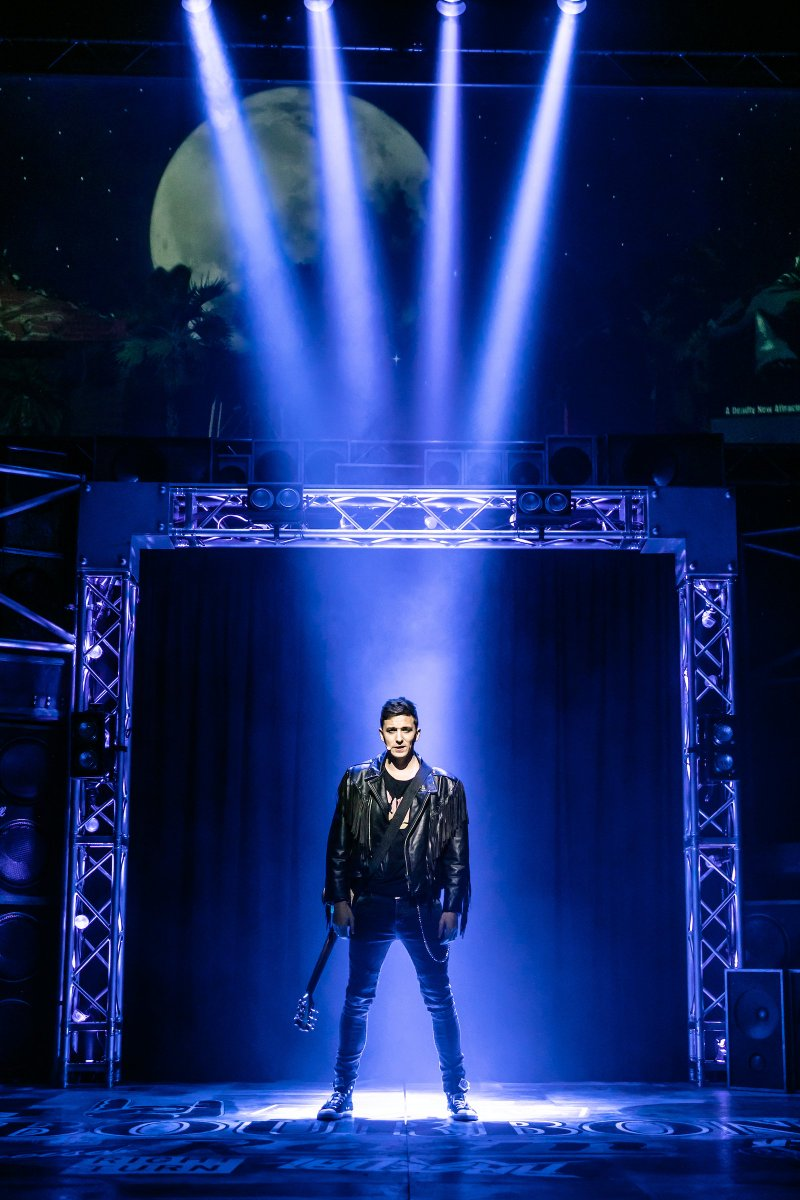 'Don't stop believin' ' because Rock of Ages opens TONIGHT @SheffieldLyceum! #getreadytorock