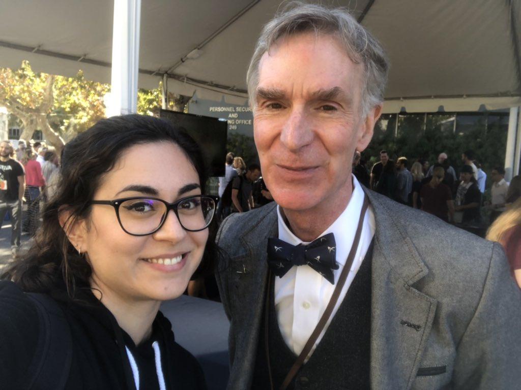 J'espère que tu ne m'en voudras pas trop pour cette infidélité @gourmaud_jamy... mais j'ai croisé  @BillNye donc j'ai pas résisté 🤓#InSightLanding #DreamsComeTrue #scienceforever