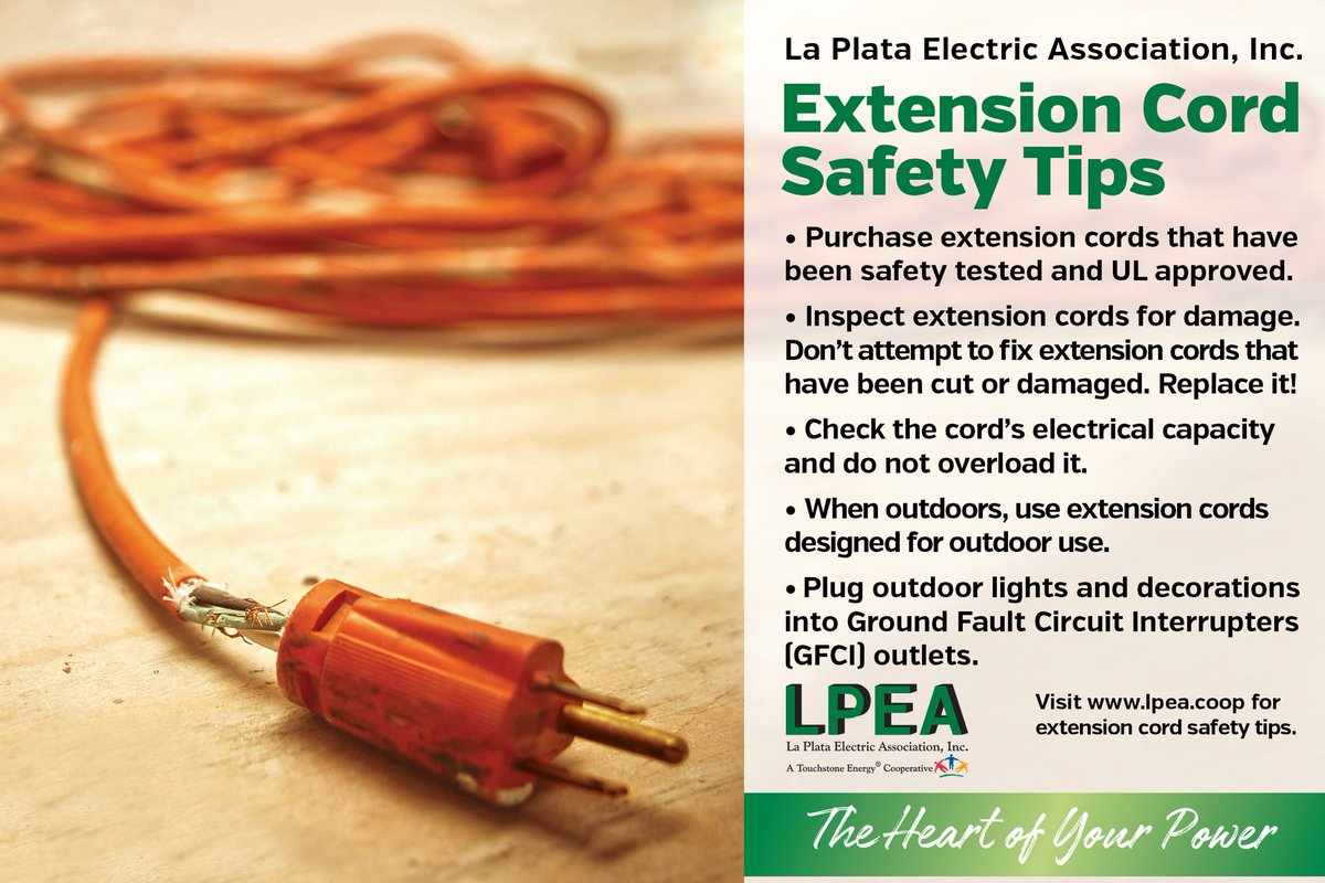 Lpea A Twitter Extension Cords Are Helpful In Delivering
