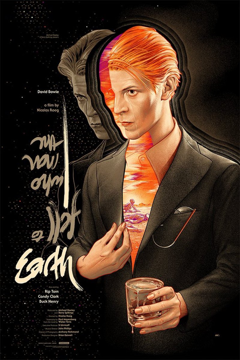 "Matt Mulcahey on Twitter ""A few Man Who Fell to Earth images in"