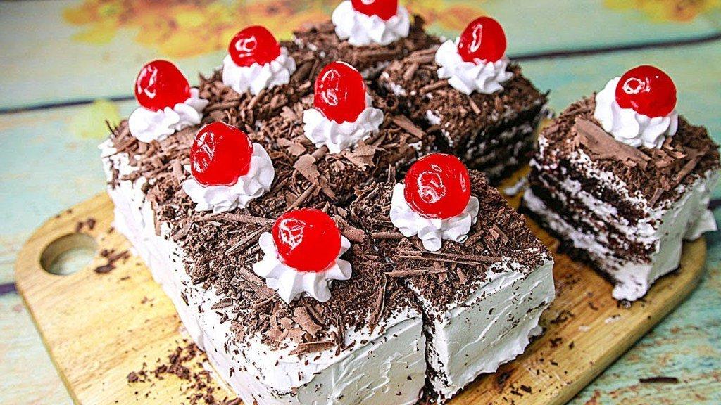 Black Forest Pastry | Eggless & Without Oven | Eggless Black Forest CakeRecipe https://t.co/MkqxXRUoXg https://t.co/kuYI79ox0E