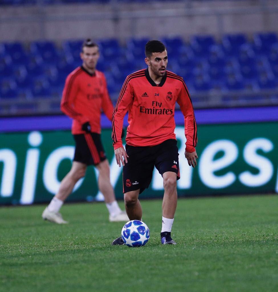 ¡Vuelve la Champions! Preparados para el importante partido de mañana. #HalaMadrid