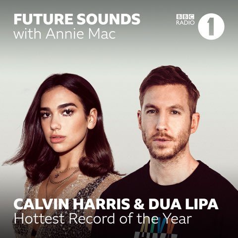 What an honour to have 2 songs up for @AnnieMac Hottest Record of the Year! Vote One Kiss and Promises tweet @BBCR1 with #R1CalvinDua #R1CalvinSam @DUALIPA @samsmith ❤️ https://t.co/yuouXI0oPn