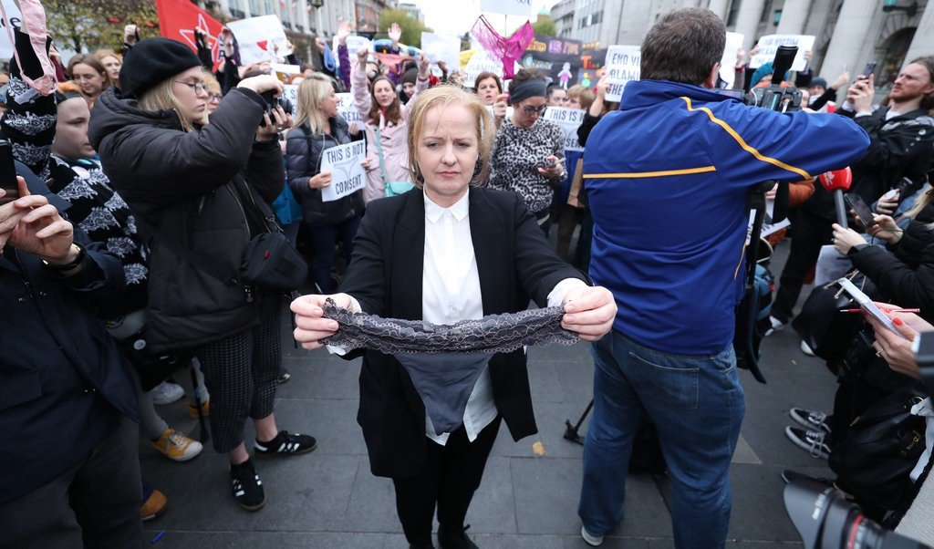 """test Twitter Media - """"You have to look at the way she was dressed. She was wearing a thong with a lace front."""" Lawyer in rape trial links thong with consent, and Ireland erupted... https://t.co/dB0bjj6byl #ThisIsNotConsent #consent  #bodyposi #bodyfreedom #freeyourbody #naturism #naturist https://t.co/WUbMTf1kmJ"""