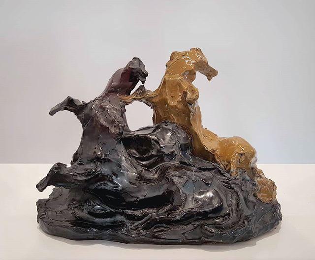 #LucioFontana #CavalliMarini #ceramic #sculpture @museonovecento #Florence  #AlbertoDellaRagione #ItalianArt #ItalianMasters #ContemporaryArt https://t.co/HFQW31VlTW