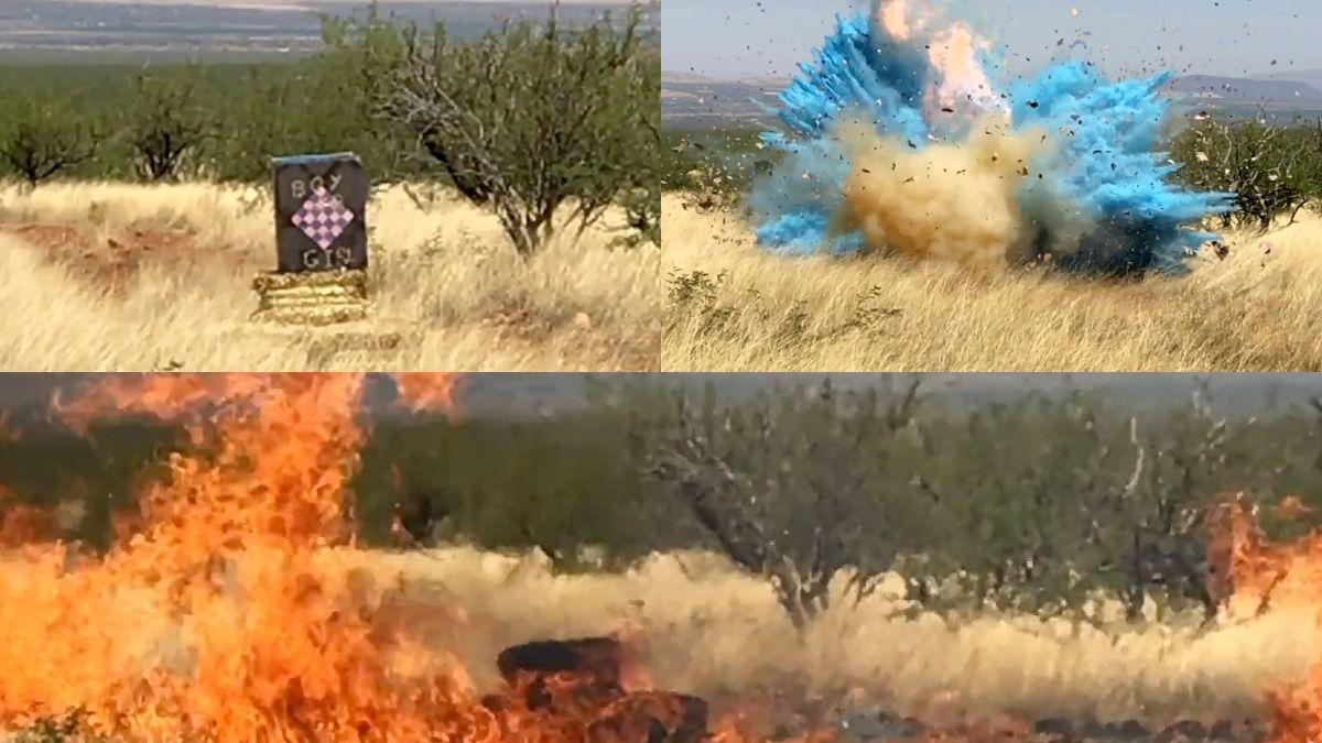 Video of explosion at border agent's gender-reveal party that sparked Arizona wildfire released https://t.co/wNCzzaU0Pi